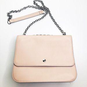 🌻Chelsea28 Pale Pink Boxy Crossbody Bag